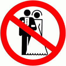 no wedding