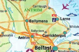 ballymena map