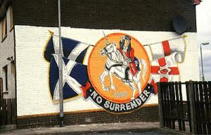 king billy on wall