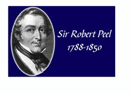 sir robert peels 12 principles The principles and ideas of sir robert peel and his adherents were expounded on by law enforcement professionals around the globe, with the input of officers and.