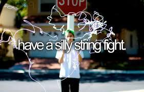 silly string