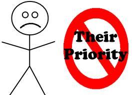no priority