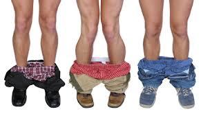 pants down