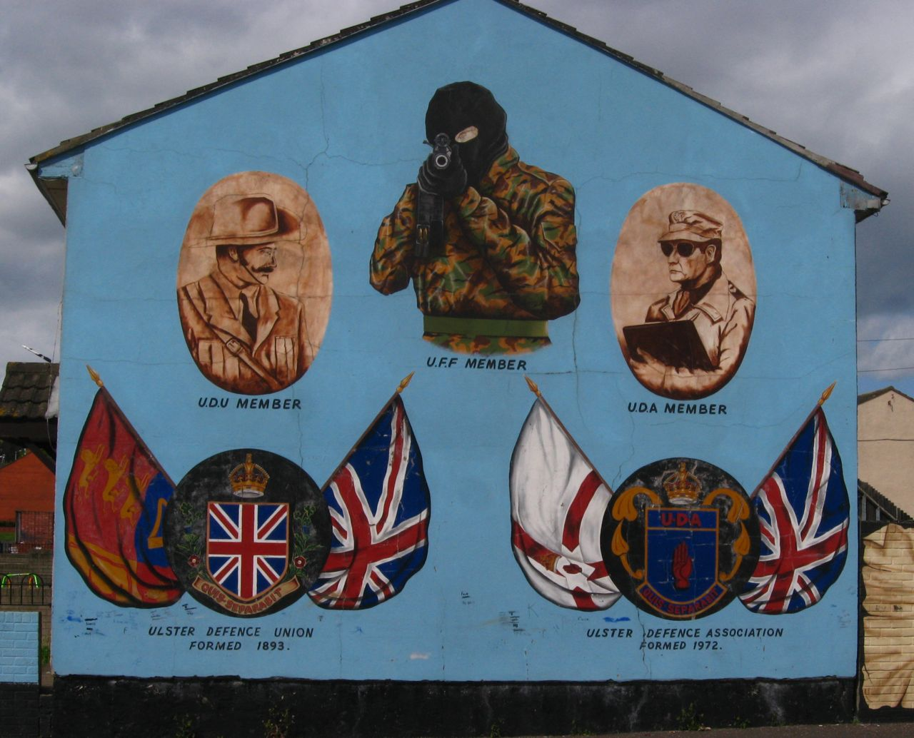 Image result for loyalist paramilitary