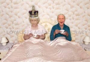 queen in bed