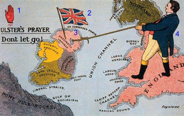 an analysis of the ulster dimension to the irish problem prior to the crisis over the third home rul