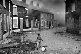 children playing in belfast street