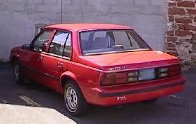 red cavalier car