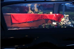 redflag coffin