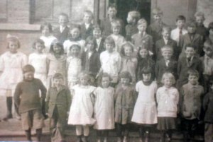 school children in the 1920s