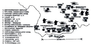 south armagh watchtower map
