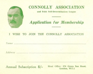 connolly assoc card