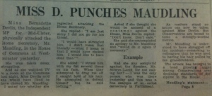 devlin punches maudling