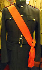 orange sash dress uniform