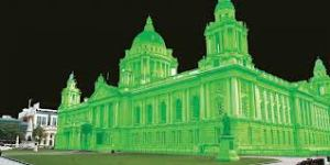 green belfast city hall