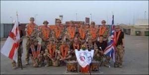 orange soldiers