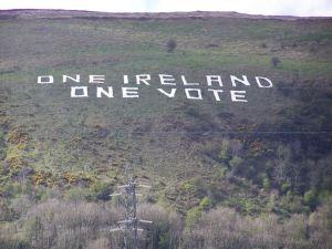 one  ireland, one vote