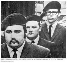 gerry adams black beret
