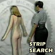 British citizen strip searched in us fucking