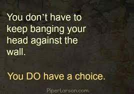 don't keep banging