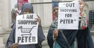 shopping for peter