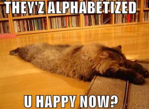 alphabetized