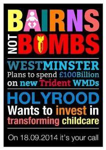 bairns not bombs