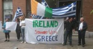 ireland stands with greece