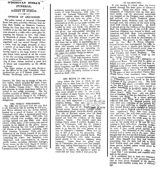Irish Times, 1st August 1915