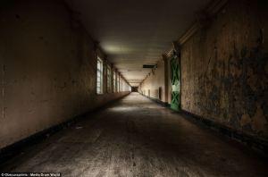 mental hospital corridor