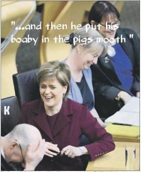 sturgeon pig's mouth