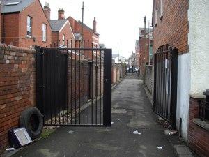open alleyway