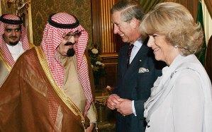 Charles in saudi