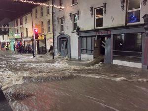 flood in village