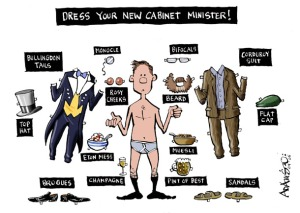 new cabinet minister