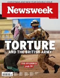 newsweek british army and torture