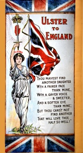 ulster to england