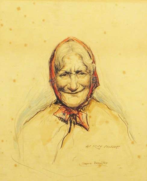 Risultati immagini per irish peasant woman
